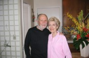 Byron and Mary at Home in Sonoma