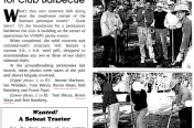Sonoma Petanque Courts Barbecue Groundbreaking 1998