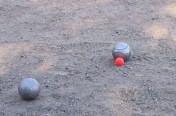 Petanque A great pointer..Somebody-will-shoot-it-away!