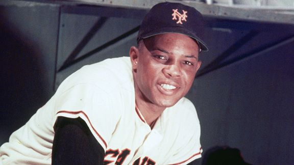 Willie Mays SF Giants All Time Great