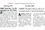 VOMPC ~ Largest Pétanque Club in the US!